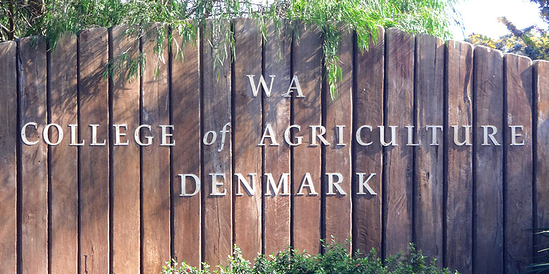 The WA College of agriculture denmark